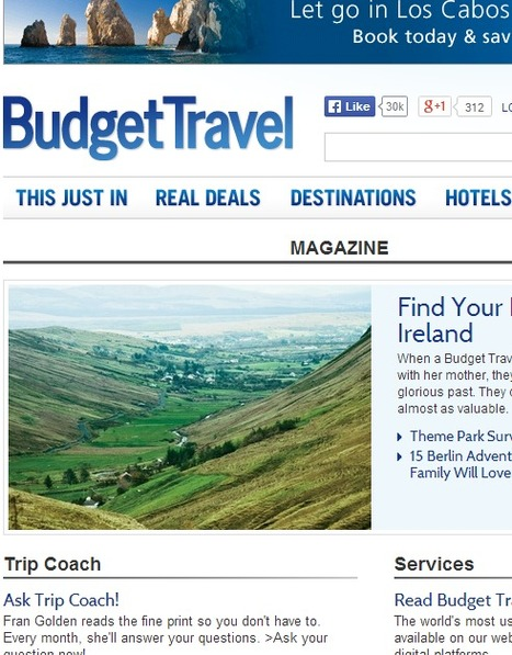 PINTEREST Drives Traffic for Budget Travel Magazine | Pinterest for Business | Scoop.it