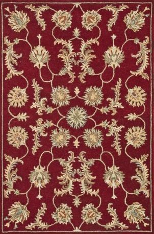 Loloi FAIRFIELD HFF-13 Red | Traditional Area Rugs | Scoop.it