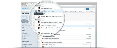 Asana: Gratis projectmanagement, task-management en CRM app voor kleinere bedrijven | BlokBoek e-zine | Scoop.it