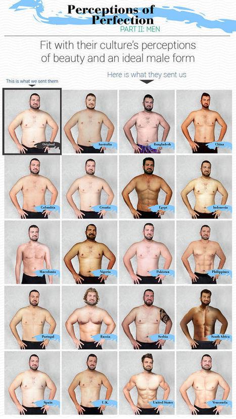 Dit gebeurt er als er 1 man in 19 landen wordt gephotoshopt | geluk | Scoop.it