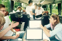 Et si on créait une start-up en trois jours… dans un bus ? | Développement économique & enjeux de territoires | Scoop.it