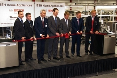 BSH reopens upgraded dishwasher assembly line - New Bern Sun Journal | électroménager | Scoop.it
