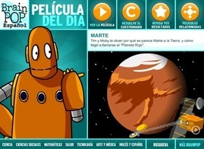 BrainPOP Latinoamérica - Un Sitio Educativo Animado para Niños con temas de Salud, Ciencias, Tecnología, Matemáticas e Inglés. | Integrating Technology in World Languages | Scoop.it