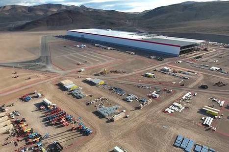 """Tesla Gigafactory is spreading out over the Nevada Desert 