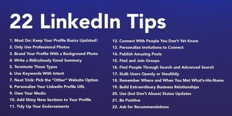 22 Easy Ways You Can Improve Your LinkedIn Profile – ReadThink | Buenas Prácticas TIC y recursos interesantes para utilizar en el aula | Scoop.it