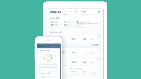 TrueBill Wants To Help You Manage Your Online Subscriptions | Tools You Can Use | Scoop.it