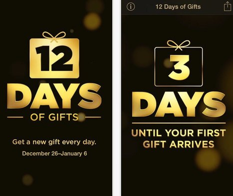 12 free gifts from Apple this year - new app | planetAppleTV | Scoop.it