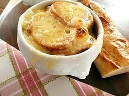 Recette de soupe gratinée aux oignons à la lyonnaise | Cuisine | Scoop.it