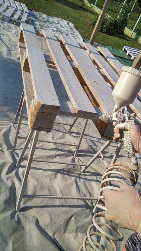 Toute la terrasse en palettes :-) | DIY | Scoop.it