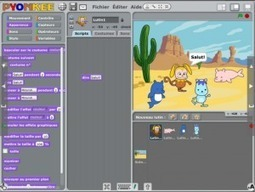 Pyonkee : Clone de Scratch sur iPad | Tablettes en MST | Philipp's page | Scoop.it