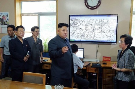 N.Korea's Kim blasts weather service for 'incorrect' forecasts - The Rakyat Post | Amazing Rare Photographs | Scoop.it
