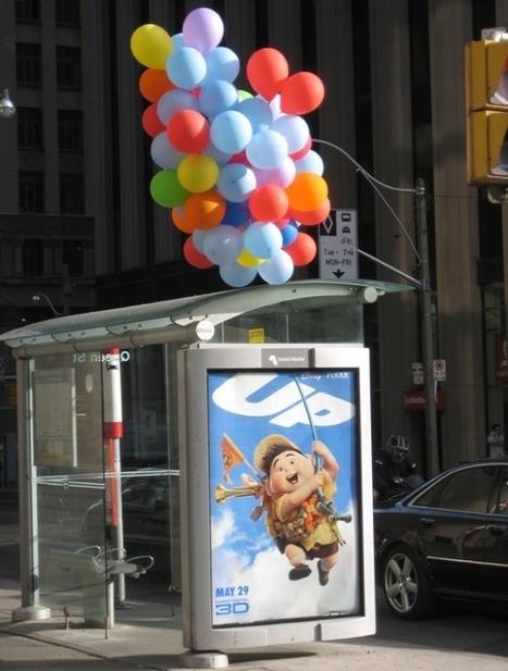 25 campagnes de publicité créatives sur des abribus | streetmarketing | Scoop.it