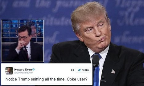 Stephen Colbert pokes fun at Trump's sniffling | Business Video Directory | Scoop.it