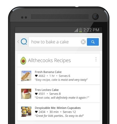 The Google for mobile apps: Quixey's new search tech can discover data within apps | VenturePlus | Scoop.it