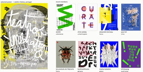 typo/graphic posters - A Platform for inspiration and graphic design | Print | Scoop.it