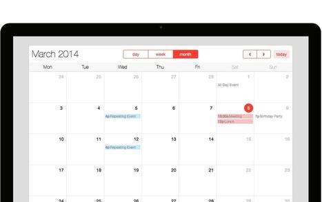 Full Calendar | Creative Tim | Web Frontend Development | Scoop.it