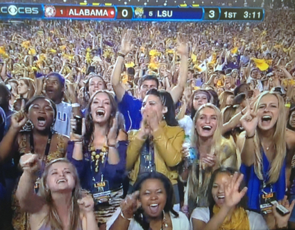 How to Dress for an LSU Football Game | Tiger People Clothiers | Scoop.it
