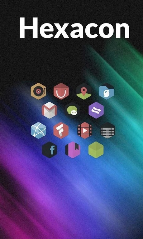 Hexacon - Icon Pack v1.3.1 | ApkLife-Android Apps Games Themes | themes | Scoop.it