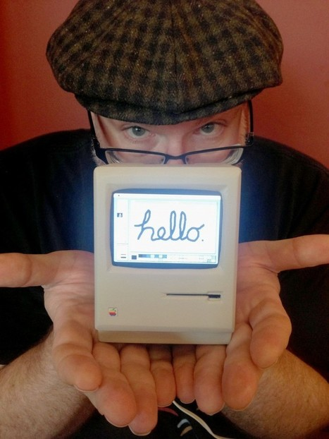 World's smallest Mac (clue: it's a Pi) | Raspberry Pi | Scoop.it