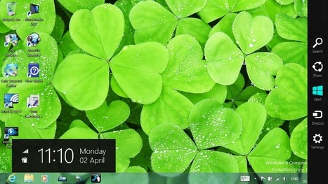 New in Windows 8: Charms | Microsoft | Scoop.it