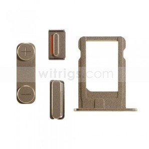 OEM Sim Card Tray with Side Button Set Replacement Parts for Apple iPhone 5S Gold - Witrigs.com | OEM Repair Parts for Apple iPhone 6 | Scoop.it
