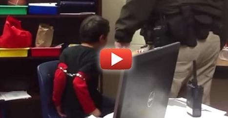 """Shock Video: Cop Handcuffs Tiny Child and Watches as he Screams in Agony 
