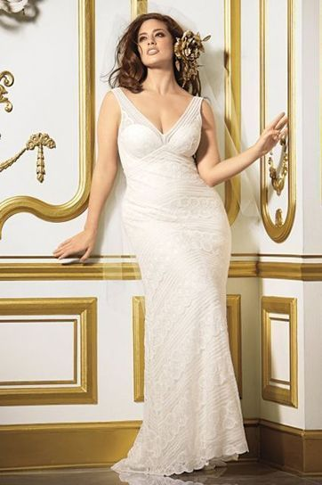 How to Pick a Plus Size Wedding Dress - Dresseseveryday   gbridal   Scoop.it