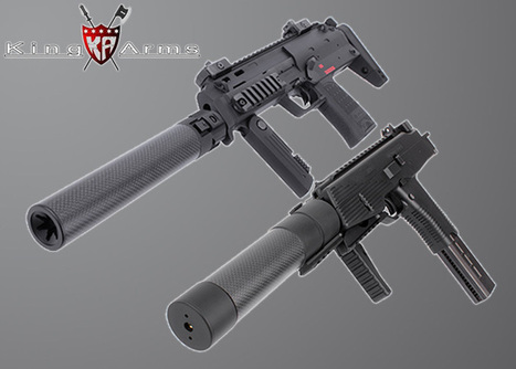 Power Up Silencers & M4 RIS Handguard | Popular Airsoft | Airsoft Showoffs | Scoop.it
