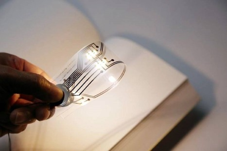 This ingenious bookmark can be used as a mini light (pictures) | Ebook and Publishing | Scoop.it