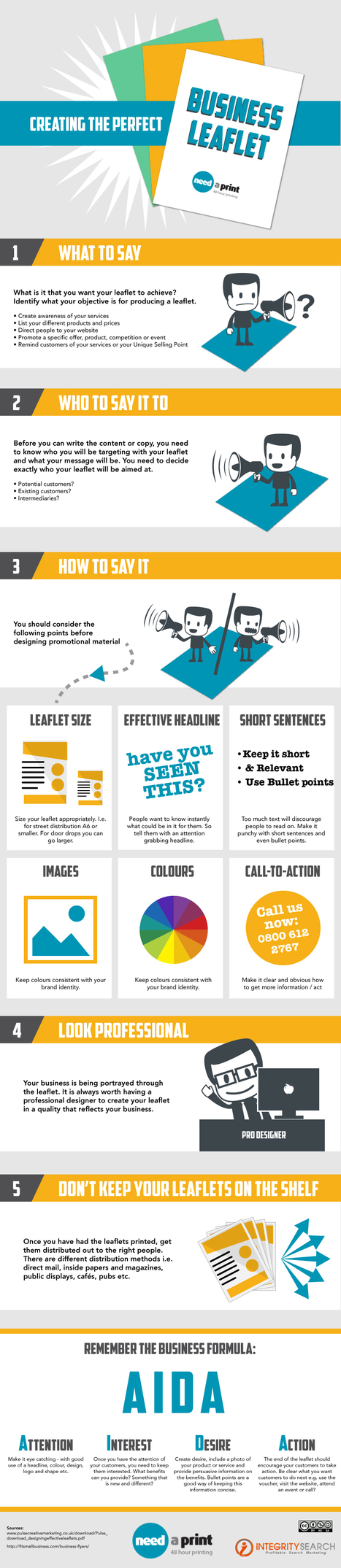 Creating The Perfect Business Leaflet | Content Creation, Curation, Management | Scoop.it