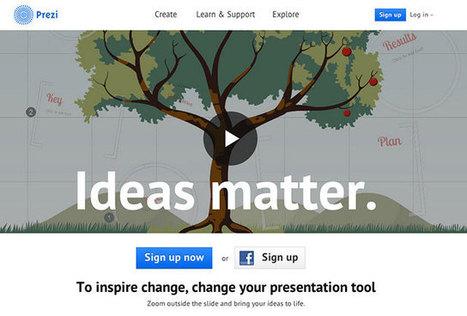 8 outils pour créer votre présentation en ligne | Web 2.0 et travail collaboratif | Scoop.it