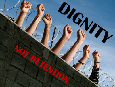 Dignity Not Detention | Art Campaign | Community Village Daily | Scoop.it
