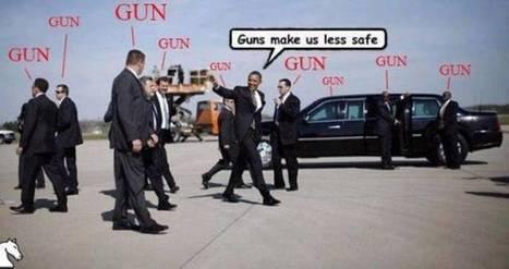 Gun Control For You But Not Me | Utenrikspolitikk | Scoop.it