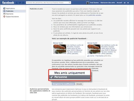 Interdire Facebook de prendre ma photographie pour faire de la pub | Geeks | Scoop.it