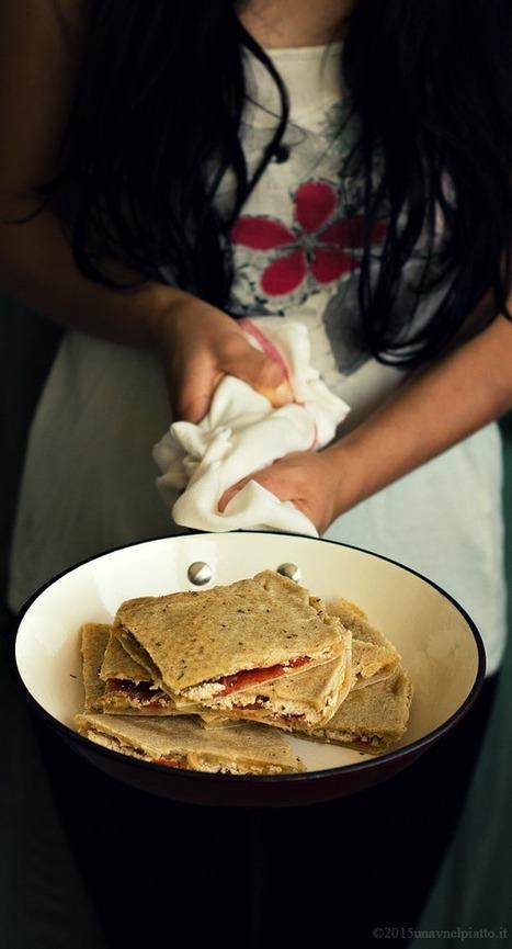 Pizza senza lievito in padella - Una V nel piatto - Ricette Vegane e Mondo Vegan   Una V nel Piatto   Scoop.it