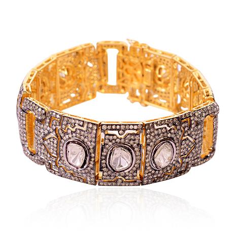 Pave Diamond Gold Bracelet | Diamond Jewelry | GemcoDesigns | Pave Diamond Bracelets | Diamond Jewelry | GemcoDesigns | Scoop.it