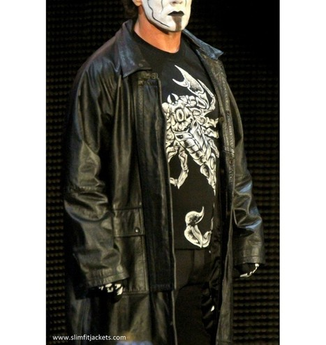 WWE Sting Returns 2015 Black Coat | Never Seen Before - Exclusive Collection | Scoop.it