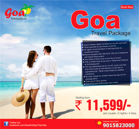 Cheapest Goa Travel Package from Noida | travel agent | Scoop.it