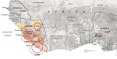 Mapping the Spread of Ebola - National Geographic | Geo-visualization | Scoop.it