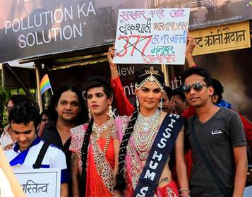 Record turnout for gay pride march in Mumbai | Caroline Watkinson Historian | Scoop.it