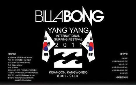 Billabong Yang Yang (Korea) Int'l Surfing festival.... | Surfing Magazine | Scoop.it