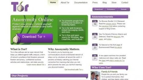 Da Tor Project il software che renderà anonime le nostre chat | tecnologia | Scoop.it