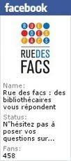 Rue des facs | le carnet | Bibliothécomania | Scoop.it