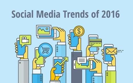2016 Social Media Trends — Medium | better brand engagement | Scoop.it