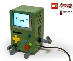 LEGO BMO Raspberry Pi Computer is Red Hot Like Pizza Supper | Raspberry Pi | Scoop.it