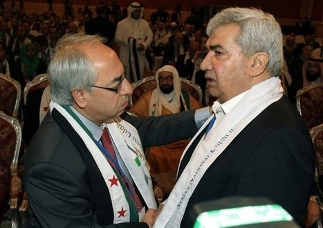 Syrian opposition group elects new leaders | Palestinians Gaza | Scoop.it