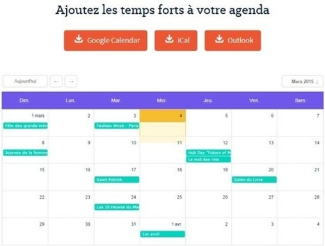 Un calendrier des temps forts de l'année 2015 pour réaliser ses campagnes marketing au bon moment | Innovations dans le secteur financier | Scoop.it
