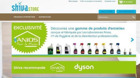 e-commerce : le réseau Shiva met en ligne son nouveau site Shivastore.fr | Cross-canal BtoB | Scoop.it