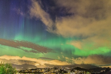 #Bergen #Norvège #aurore boréale : 3 photos hier soir | Hurtigruten Arctique Antarctique | Scoop.it