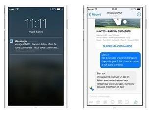 La SNCF mise sur Messenger pour simplifier sa relation client | RelationClients | Scoop.it